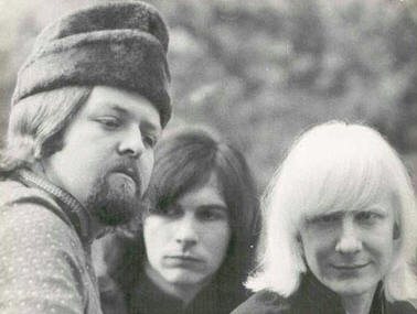 Uncle John, Tommy Shannon, and Johnny Winter